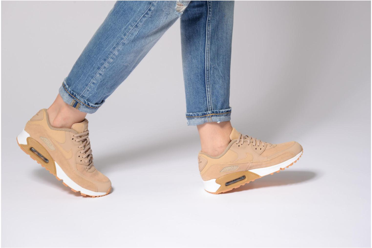 Sneakers Nike Wmns Air Max 90 Se Rosso immagine dal basso