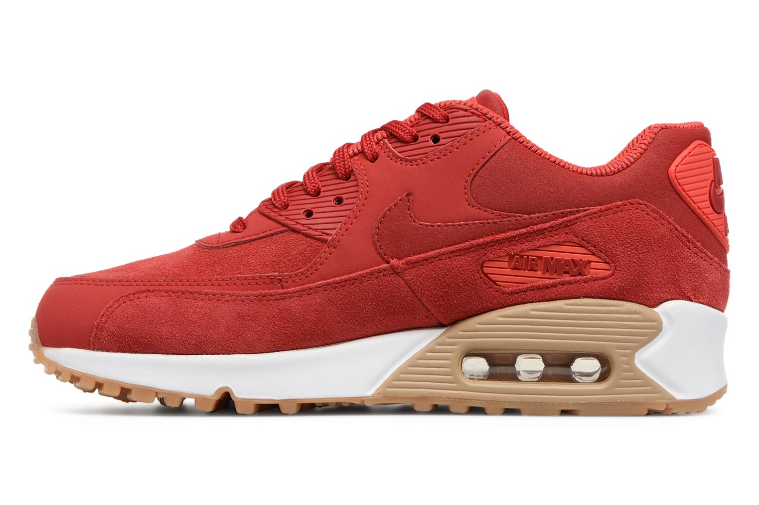 Sneakers Nike Wmns Air Max 90 Se Rosso immagine frontale