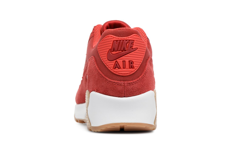 Baskets Nike Wmns Air Max 90 Se Rouge vue droite