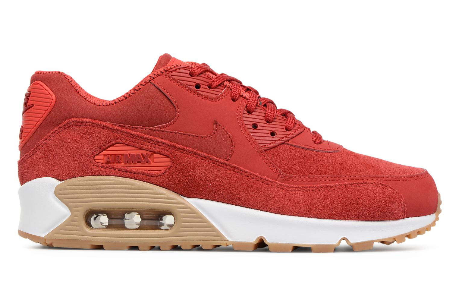 Sneakers Nike Wmns Air Max 90 Se Rosso immagine posteriore