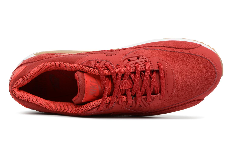 Baskets Nike Wmns Air Max 90 Se Rouge vue gauche