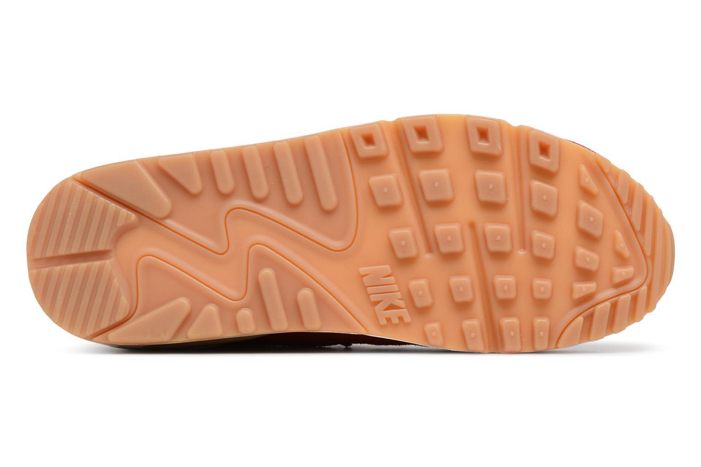 Baskets Nike Wmns Air Max 90 Se Rouge vue haut