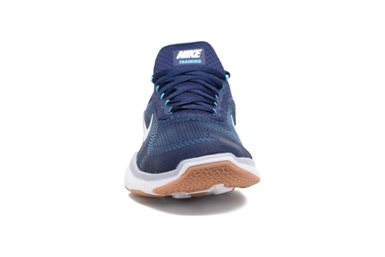 Sportschuhe Nike Nike Free Trainer V7 blau schuhe getragen