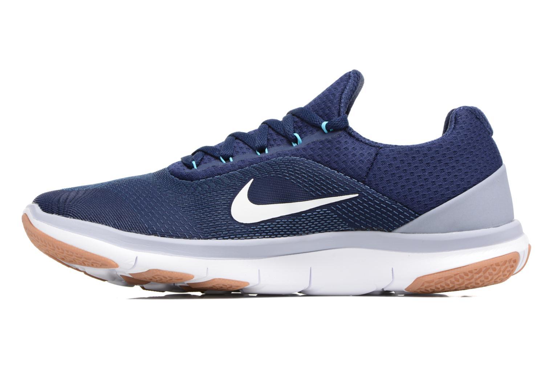 Sportschuhe Nike Nike Free Trainer V7 blau ansicht von vorne