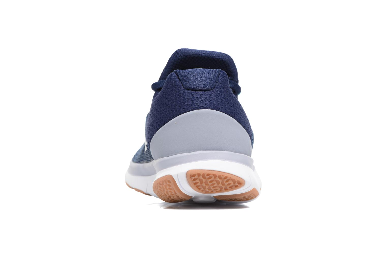 Sportschuhe Nike Nike Free Trainer V7 blau ansicht von rechts