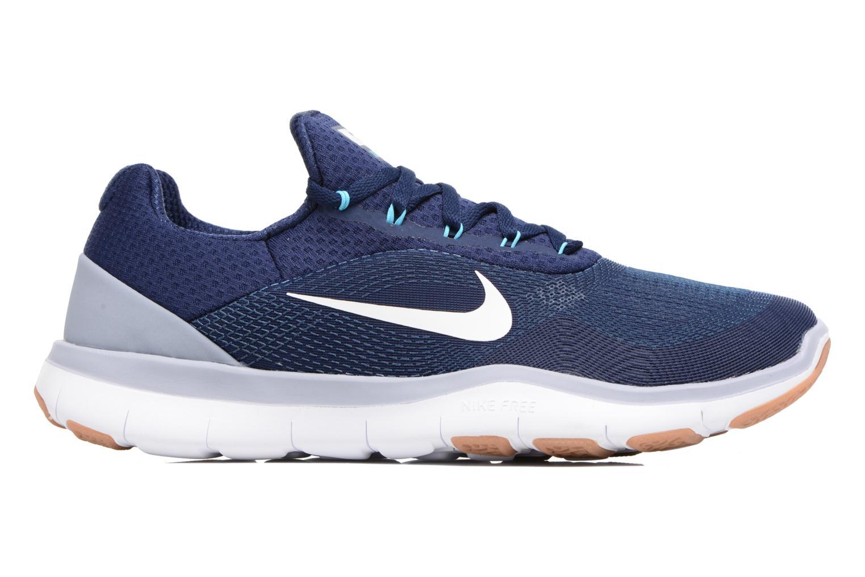 Sportschuhe Nike Nike Free Trainer V7 blau ansicht von hinten