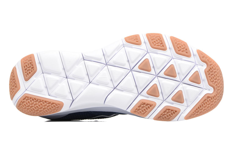 Sportschuhe Nike Nike Free Trainer V7 blau ansicht von oben