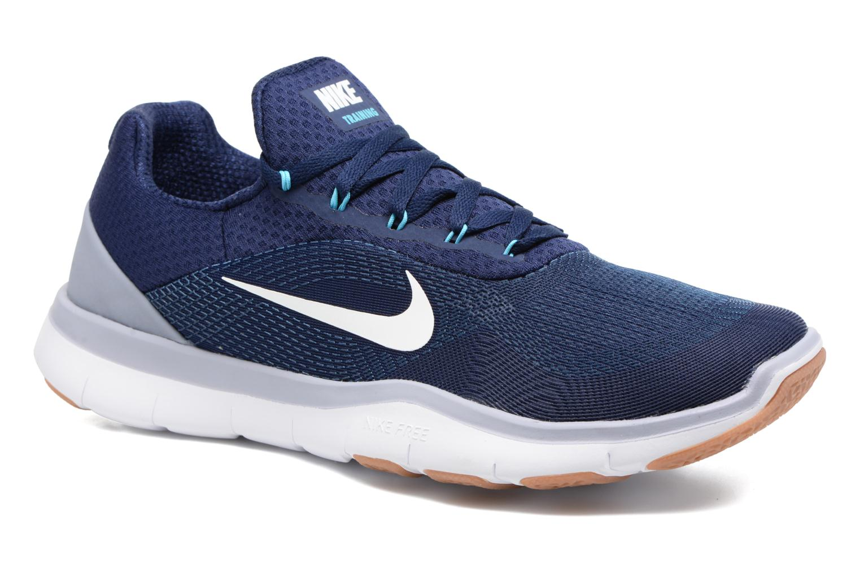 Sportssko Nike Nike Free Trainer V7 Blå detaljeret billede af skoene