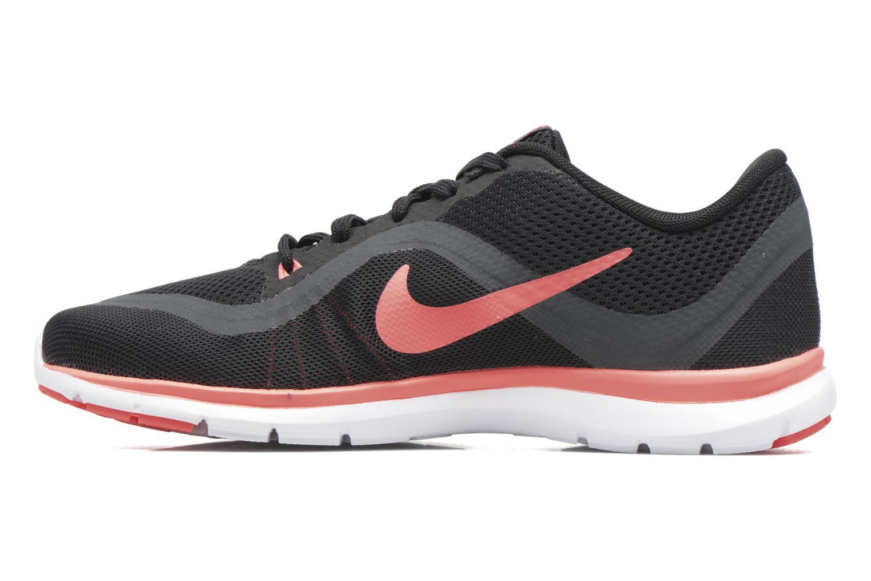 Chaussures de sport Nike W Nike Flex Supreme Tr 5 Fade Noir vue face