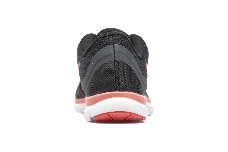 Chaussures de sport Nike W Nike Flex Supreme Tr 5 Fade Noir vue droite