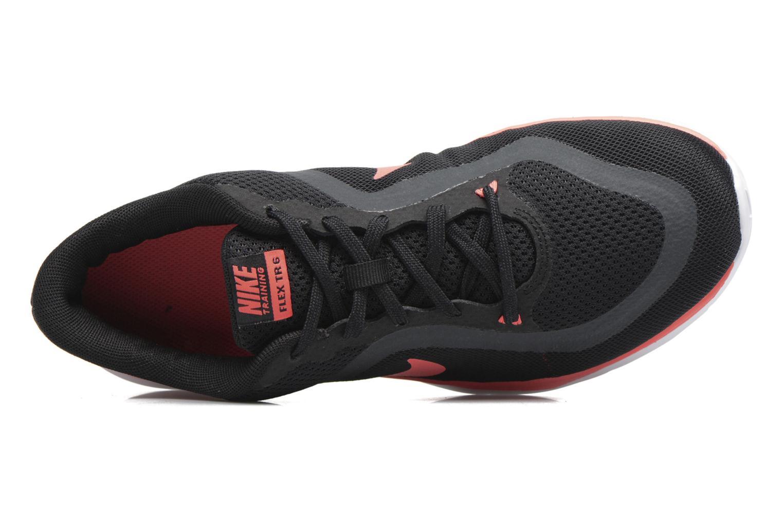 Chaussures de sport Nike W Nike Flex Supreme Tr 5 Fade Noir vue gauche