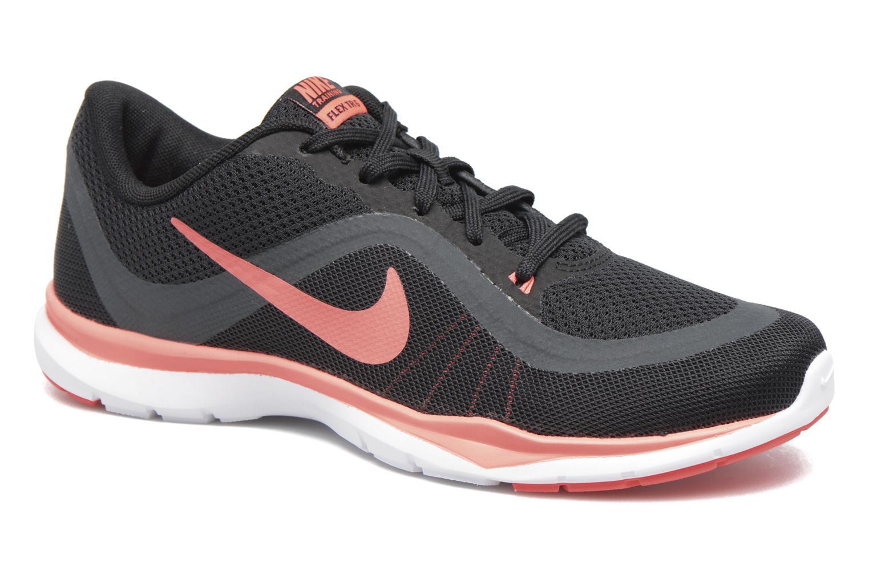 Chaussures de sport Nike W Nike Flex Supreme Tr 5 Fade Noir vue détail/paire