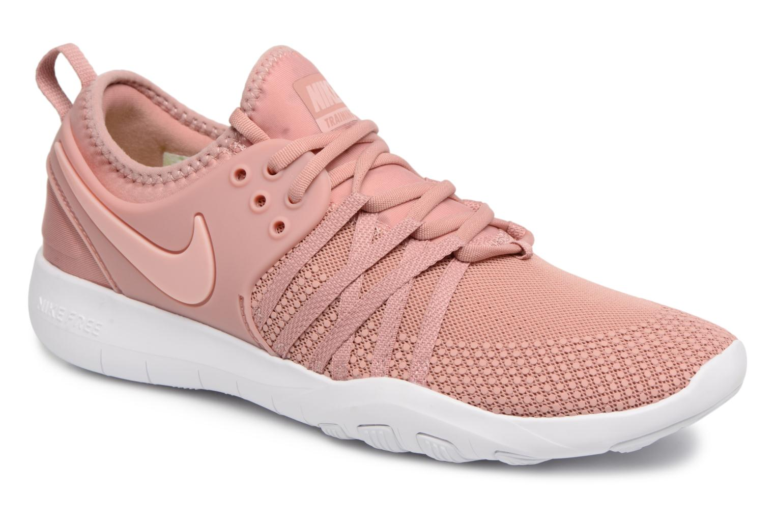 Marques Chaussure femme Nike femme Wmns Nike Free Tr Flyknit 2 Rust Pink/White