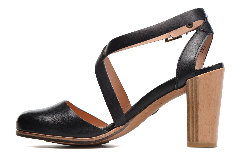 Sandales et nu-pieds Neosens Gloria S195 Noir vue face