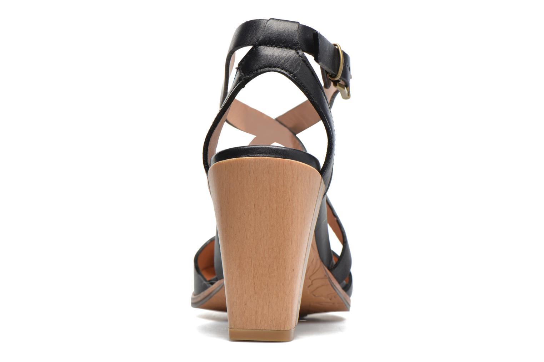 Sandales et nu-pieds Neosens Gloria S195 Noir vue droite
