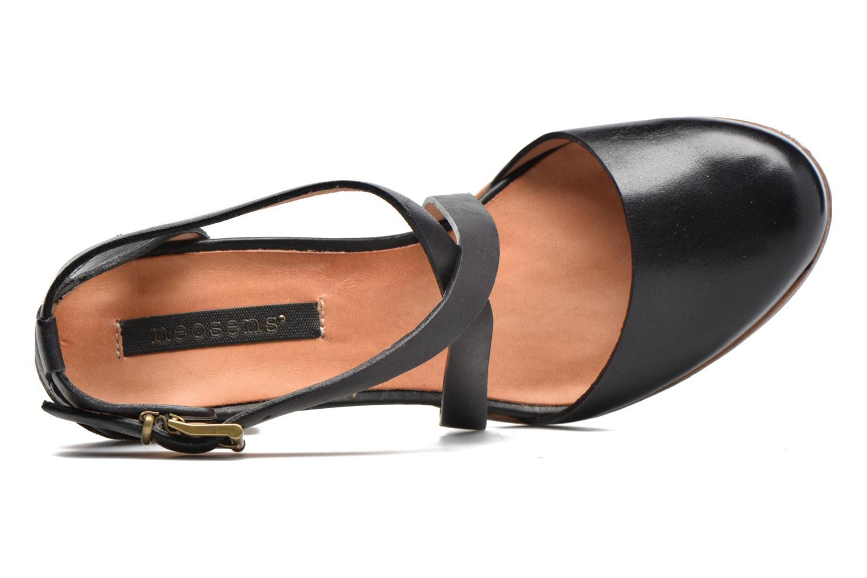 Sandales et nu-pieds Neosens Gloria S195 Noir vue gauche