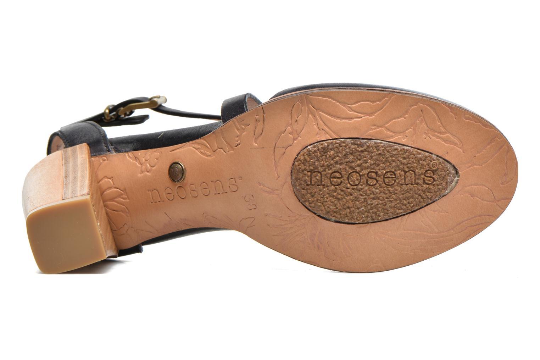 Sandales et nu-pieds Neosens Gloria S195 Noir vue haut