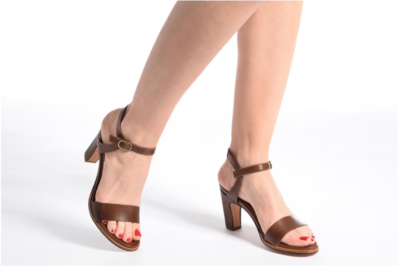 Sandales et nu-pieds Neosens Altesse S466 Bleu vue bas / vue portée sac