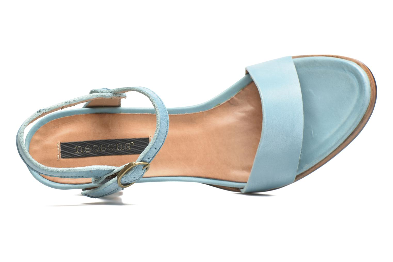 Sandales et nu-pieds Neosens Altesse S466 Bleu vue gauche