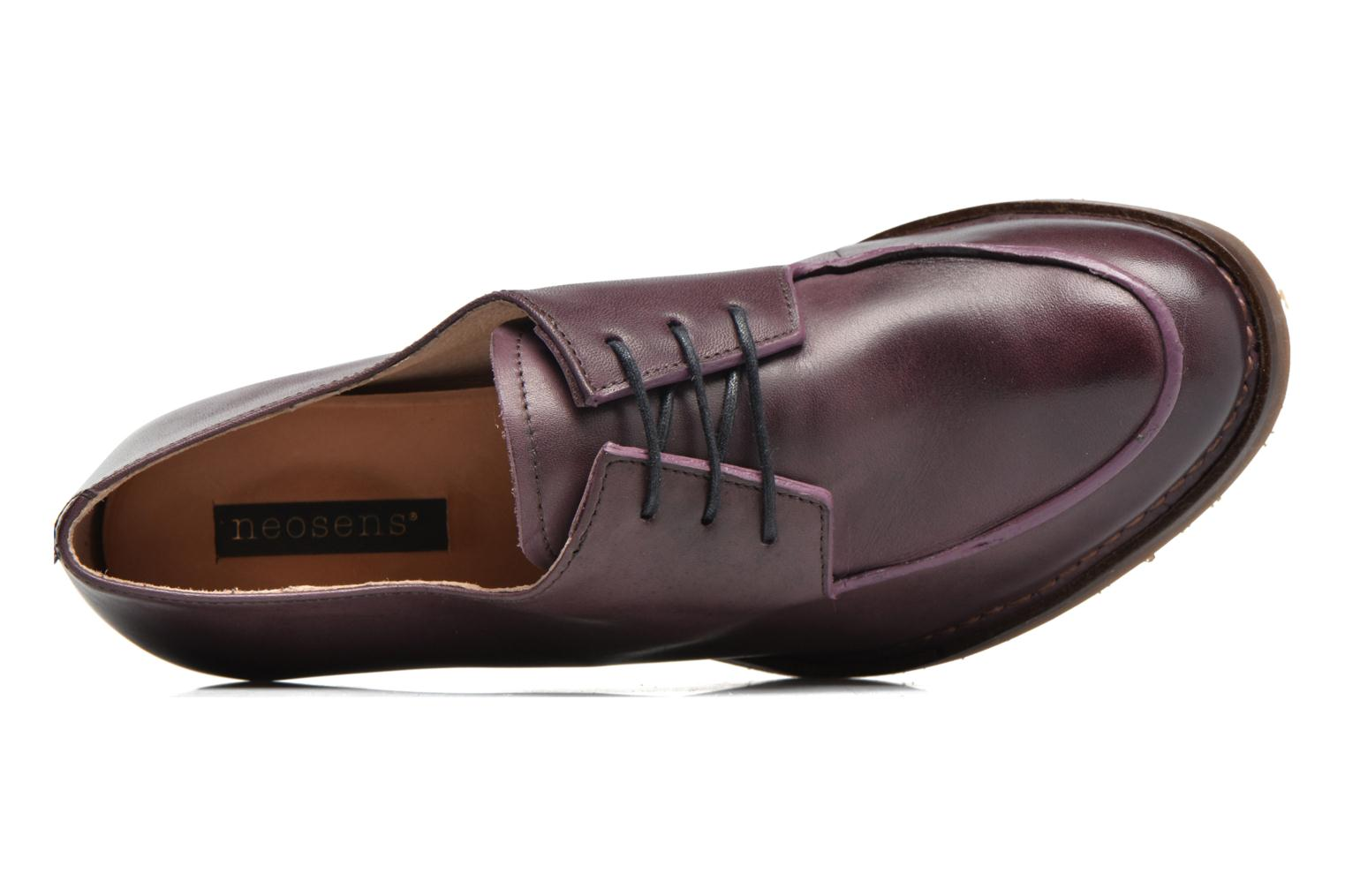 Lace-up shoes Neosens Verdil S516 Purple view from the left