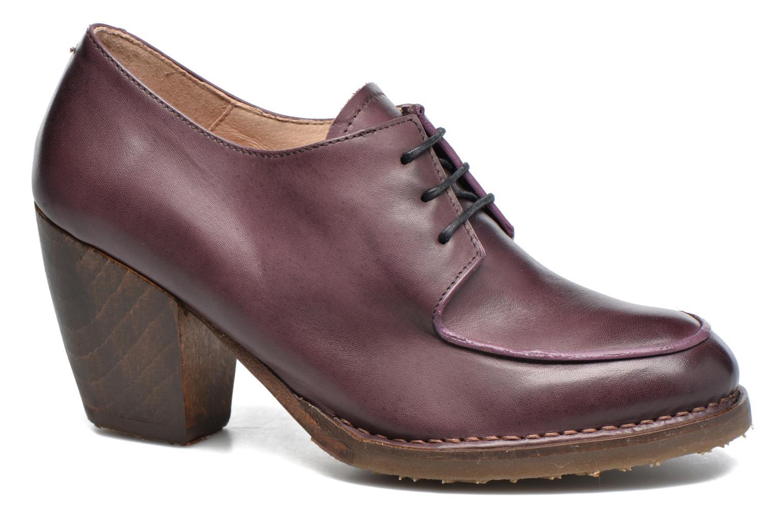 Lace-up shoes Neosens Verdil S516 Purple detailed view/ Pair view