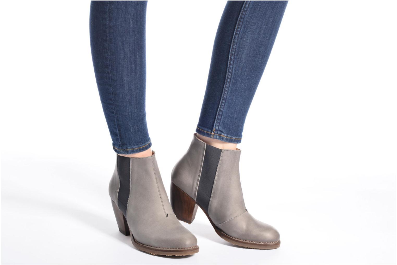 Bottines et boots Neosens Verdil S517 Gris vue bas / vue portée sac