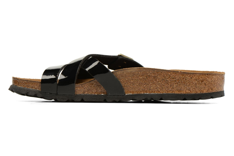 Sandales et nu-pieds Birkenstock Yao Balance Noir vue face