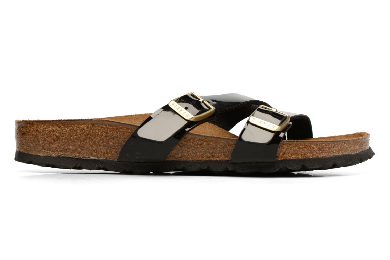 Sandales et nu-pieds Birkenstock Yao Balance Noir vue derrière