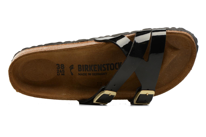 Sandales et nu-pieds Birkenstock Yao Balance Noir vue gauche