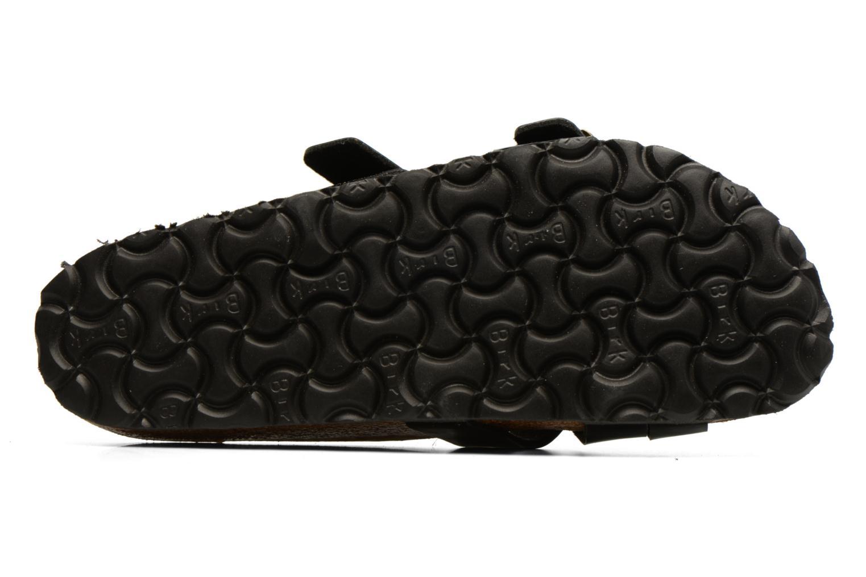 Sandales et nu-pieds Birkenstock Yao Balance Noir vue haut