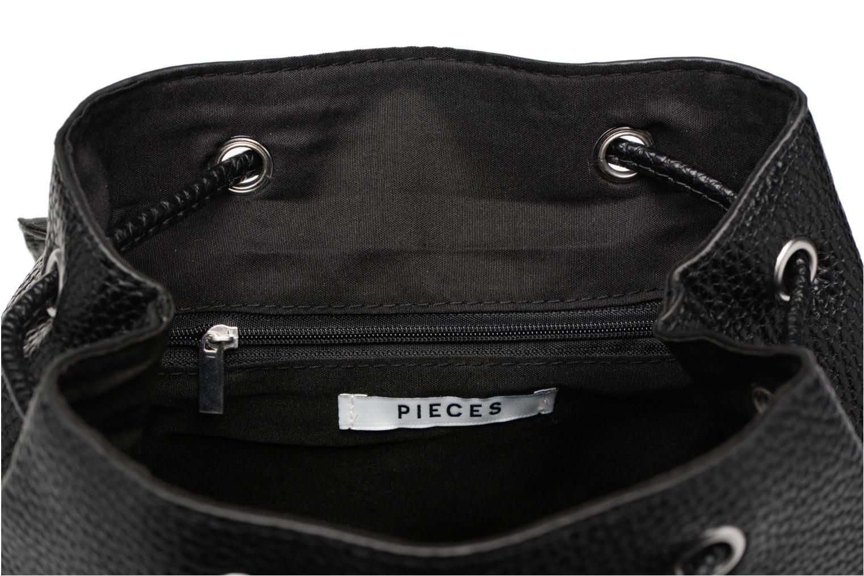 Rucksäcke Pieces Billie Backpack schwarz ansicht von hinten