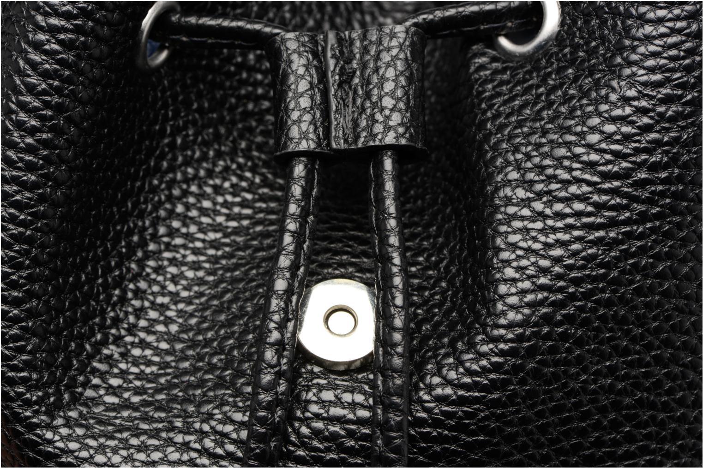 Rucksäcke Pieces Billie Backpack schwarz ansicht von links