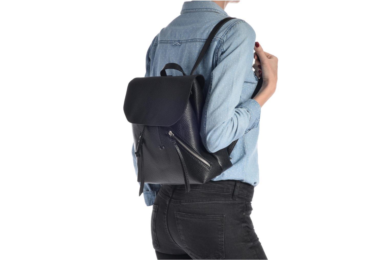 Rucksäcke Pieces Billie Backpack schwarz ansicht von oben