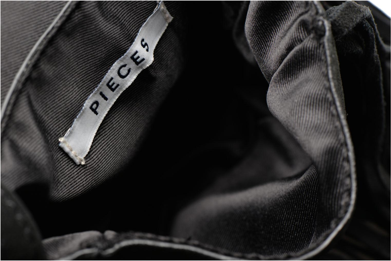Pusle Suede Cross Body Bag Black
