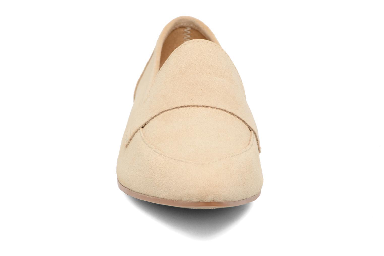 Palometa Suede Loafer Nude Nude
