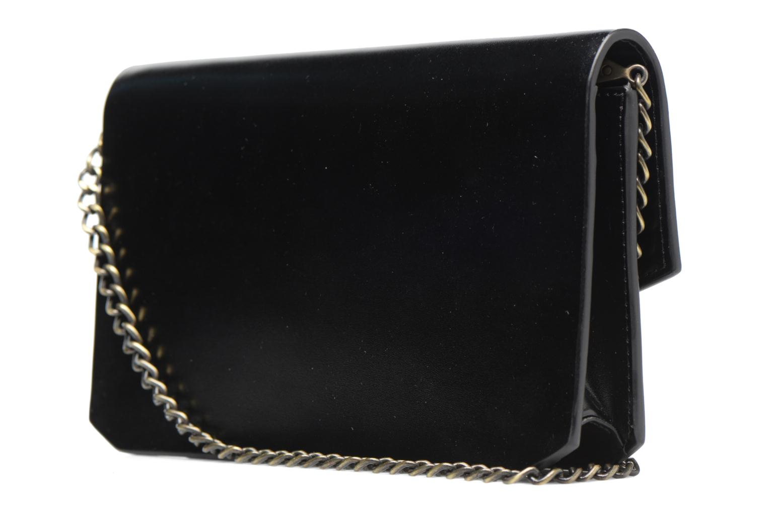 Clutch bags Tammy & Benjamin Pochette Chaine Ines Black view from the right
