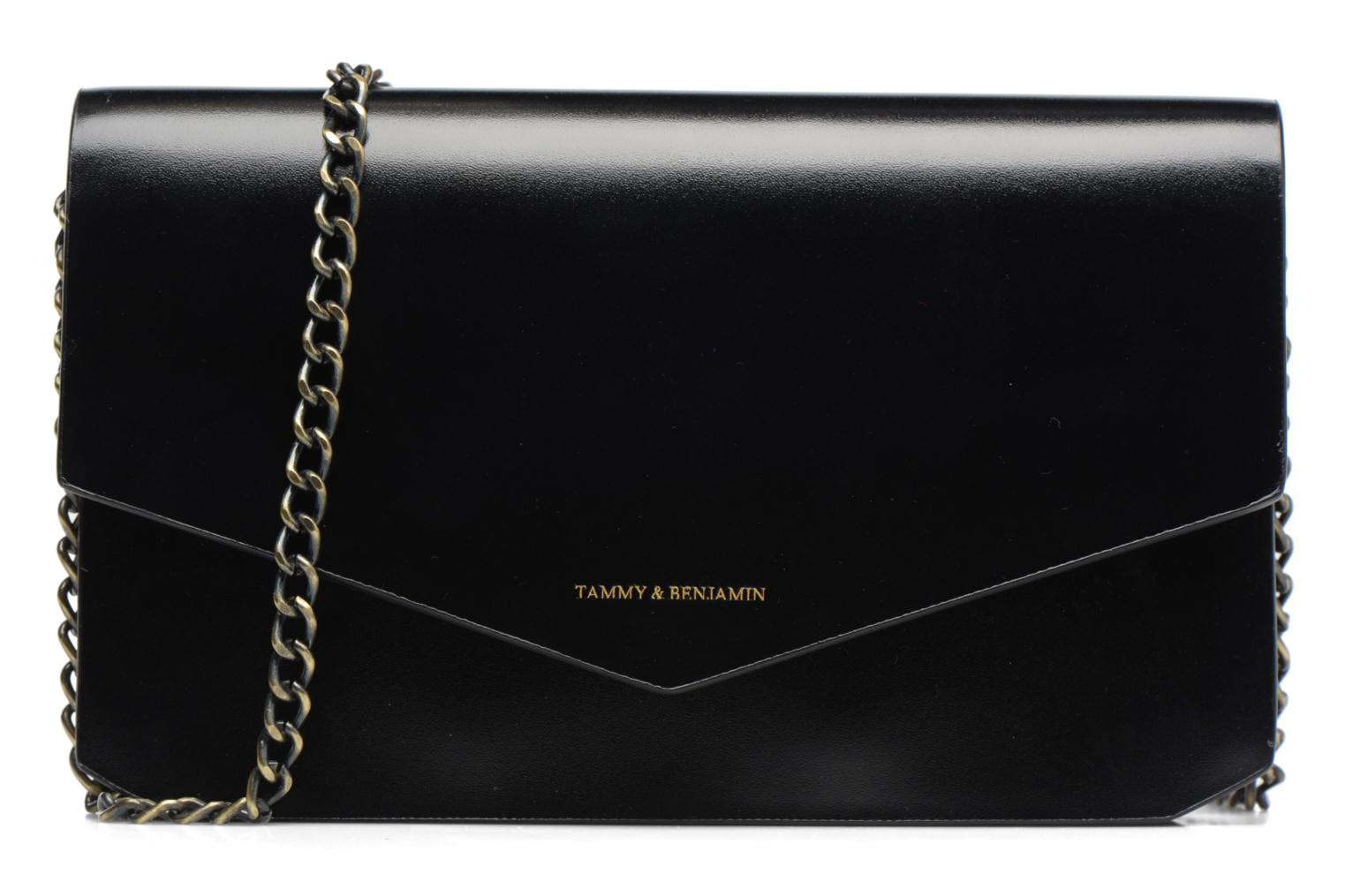 Clutch bags Tammy & Benjamin Pochette Chaine Ines Black detailed view/ Pair view