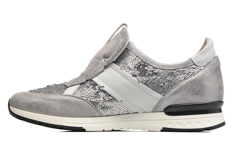 Sneaker Elizabeth Stuart Galia 984 silber ansicht von vorne