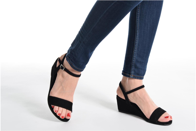 Sandales et nu-pieds Elizabeth Stuart Seto 606 Beige vue bas / vue portée sac