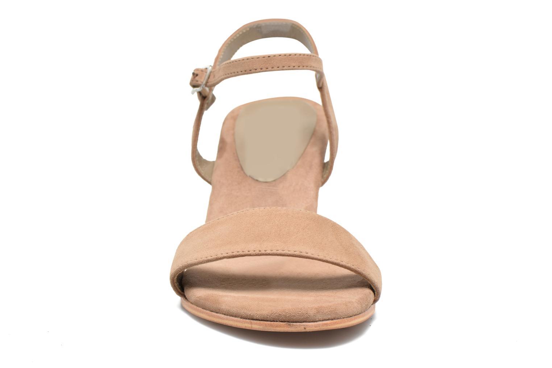 Sandales et nu-pieds Elizabeth Stuart Seto 606 Beige vue portées chaussures