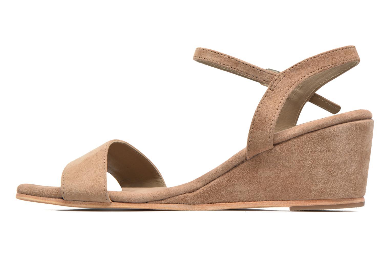 Sandales et nu-pieds Elizabeth Stuart Seto 606 Beige vue face