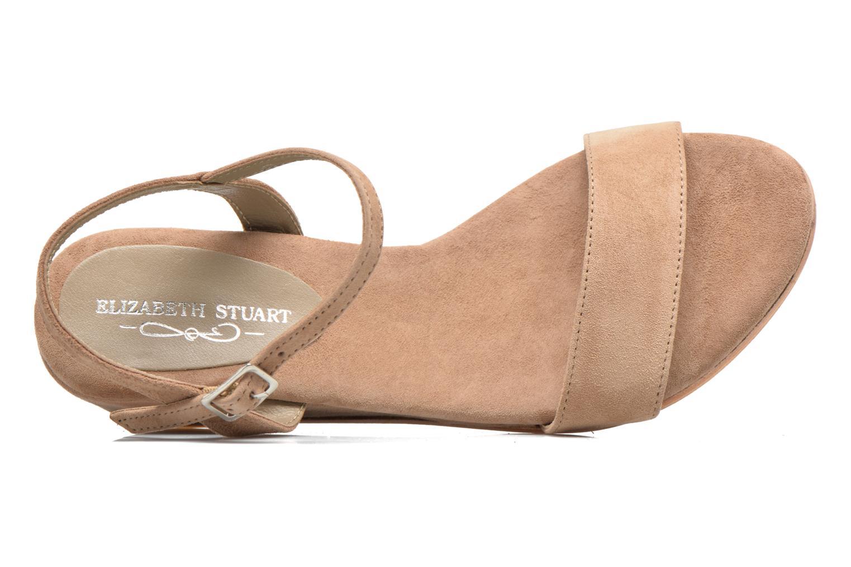 Sandales et nu-pieds Elizabeth Stuart Seto 606 Beige vue gauche