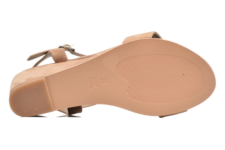 Sandales et nu-pieds Elizabeth Stuart Seto 606 Beige vue haut