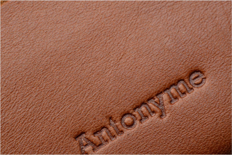 Marroquinería pequeña Antonyme by Nat & Nin Porte-cartes Rob Marrón vista lateral izquierda