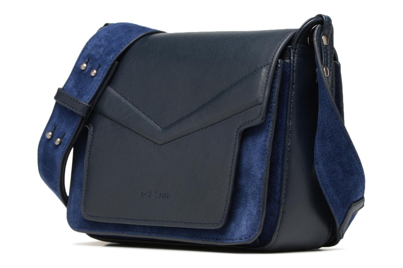 Handtaschen Nat & Nin Victoire blau schuhe getragen