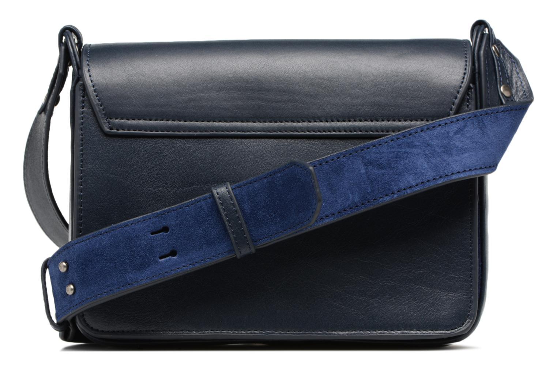 Handtaschen Nat & Nin Victoire blau ansicht von vorne