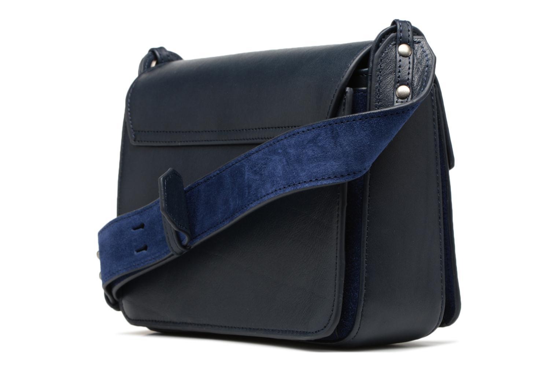 Handtaschen Nat & Nin Victoire blau ansicht von rechts