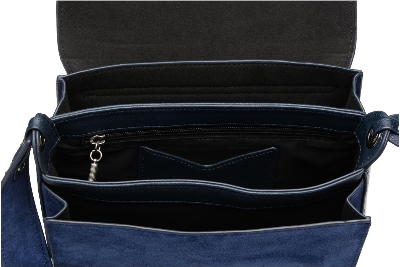 Handtaschen Nat & Nin Victoire blau ansicht von hinten