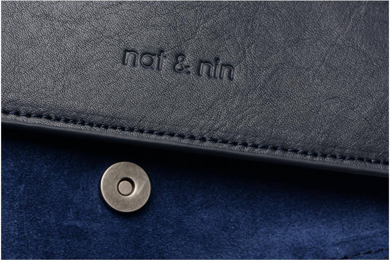 Handtaschen Nat & Nin Victoire blau ansicht von links