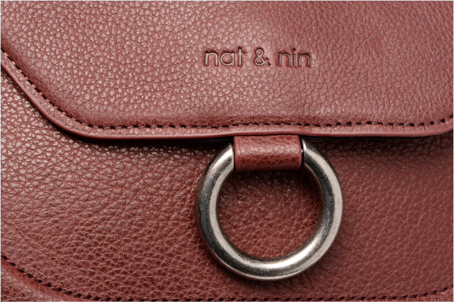 Handtassen Nat & Nin Anja Bordeaux links